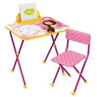 Набор мебели МАЛЕНЬКАЯ ПРИНЦЕССА (стол + мяг стул) h580 НИКА КП2/17